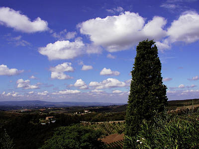 Photograph - Tuscan Sky by Mary Capriole