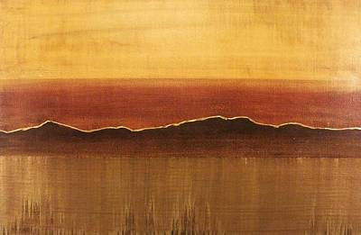 Tuscan Sunset Painting - Tuscan Sun by Justin  Strom