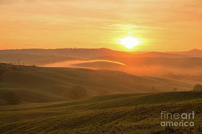 Photograph - Tuscan Sunrise by Yuri Santin