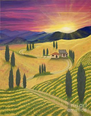 Tuscan Sunset B Original