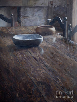 Painting - Tuscan Table by Kelly Borsheim