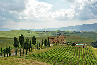 Tuscan Winery Art Print by Joachim G Pinkawa