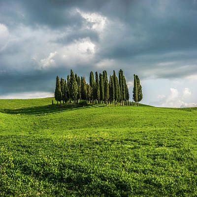 Photograph - Tuscan Wonderland - Val D Orcia by Jay Moore