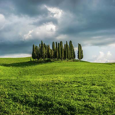 Tuscan Wonderland - Val D Orcia Art Print