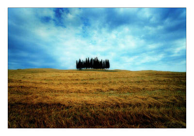 Tuscan Digital Art - Tuscany - Italy by Marco Hietberg