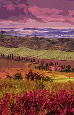 Painting - Tuscany, Beauty Of The World by Andrea Mazzocchetti