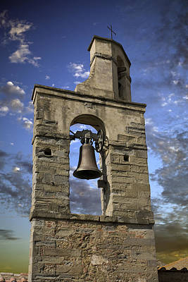 Medeival Photograph - Tuscany Church Bell by Al Hurley