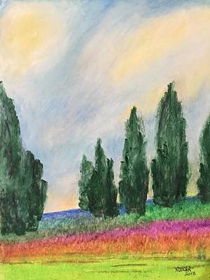 Pastel - Tuscany Dream by Norma Duch