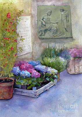 Mixed Media - Tuscany Florist by Bonnie Rinier