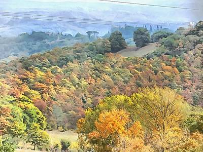 Photograph - Tuscany In Fall by Dorothy Berry-Lound