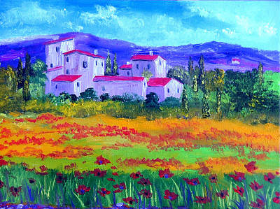 Tuscany Art Print by Inna Montano