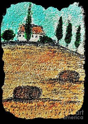 Tuscany  Art Print
