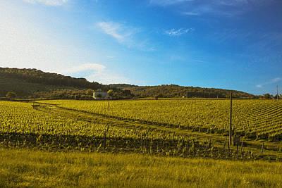 Tuscany Landscape Original by Francesco Atzori