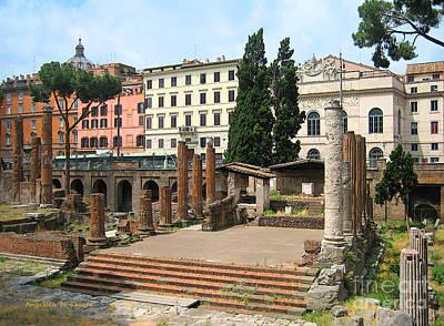 Tuscany- Roman Forum Art Print