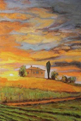 Painting - Tuscany Sun by Nita Burge