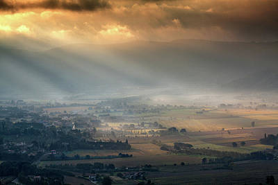 Photograph - Tuscany Valley  by Al Hurley