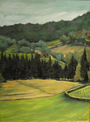 Tuscany View Art Print