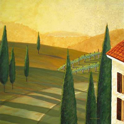 Tuscany Vinicola I Art Print by Herb Dickinson