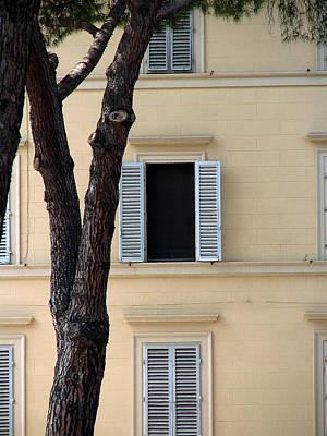 Digital Art - Tuscany Window by Julian Perry