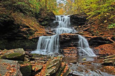 Tuscarora Falls Print by Ben Prepelka