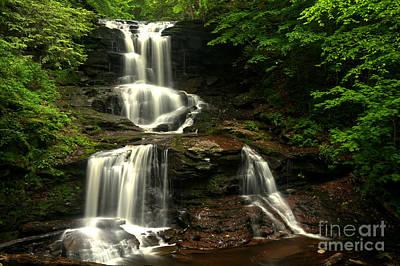 Tuscarora Falls Split Print by Adam Jewell