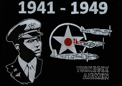 Tuskegee Airmen Art Print by Jim Ross