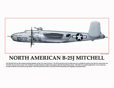 Tuskegee Aviator Bomber Original by Jerry Taliaferro