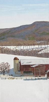 Painting - Tussey Mountain View by Barb Pennypacker