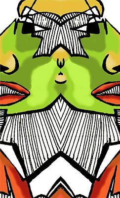 Abstracto Mixed Media - Tut 2 by Betzaida Irizarry