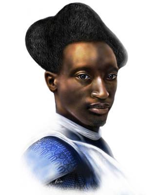 Digital Art - Tutsi Crown by AC Williams