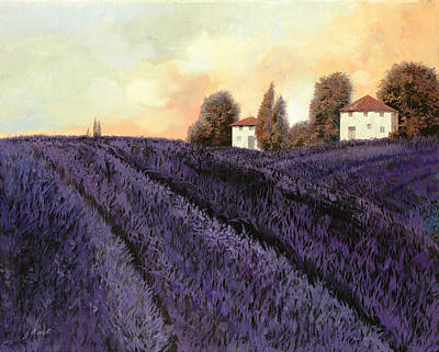 Landscapes Royalty-Free and Rights-Managed Images - Tutta lavanda by Guido Borelli