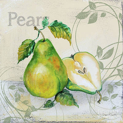 Painting - Tutti Fruiti Pears by Jean Plout