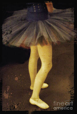 Photograph - Tutu And Ballerina Shoes by Craig J Satterlee
