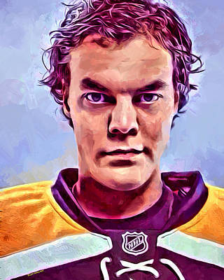 Toronto Maple Leafs Digital Art - Tuukka Rask Boston Bruins by Scott Wallace