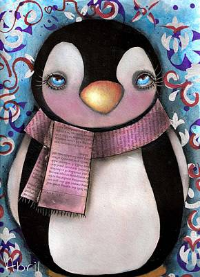 Tuxedo  Art Print by  Abril Andrade Griffith