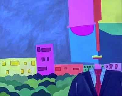 Painting - Tuxedo Dude by Isaac Alcantar