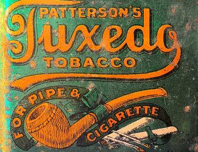 Photograph - Tuxedo Tobacco by Bonfire Photography