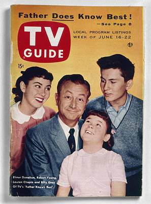 Photograph - Tv Guide, 1956 by Granger