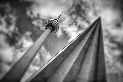 Photograph - Tv Tower Alexanderplatz Berlin  by Carol Japp