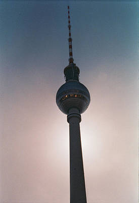 Tv Tower Berlin Art Print