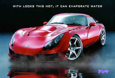Tvr Evaporating Water Art Print