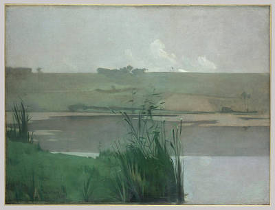Bataille Painting - Twachtman by John Henry