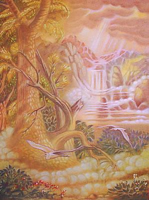 Pastel - Twain by Gary Renegar