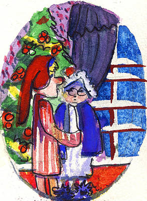 Twas The Night Before Christmas Original by Mindy Newman