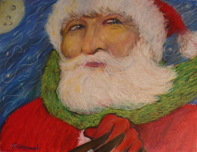 Painting - Twas The Night Before Christmas by Todd  Peterson