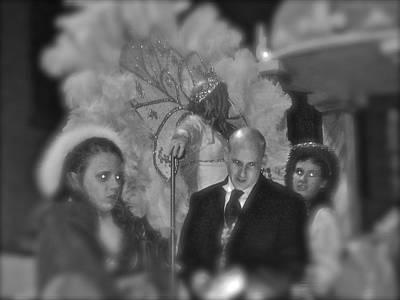 Lilwayne Photograph - Twas The Night Of Mardi Gras by GM Robert