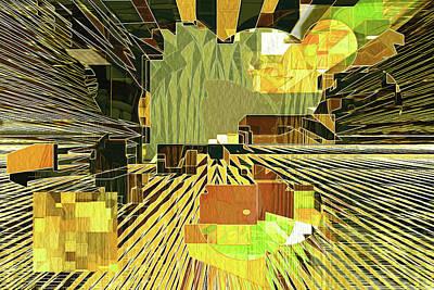 Digital Art - Tweaking The Future 12 by Lynda Lehmann