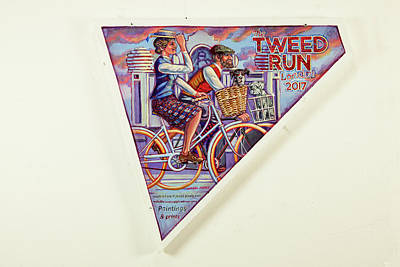 Tweed Run London Princess And Guvnor  Art Print