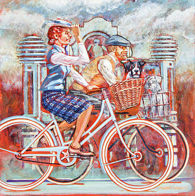 Tweed Runners On Pashleys Art Print