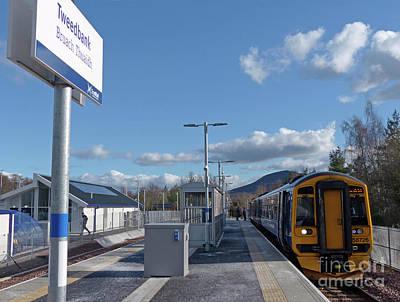 Photograph - Tweedbank Station by Phil Banks